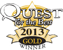 Quest for the Best 2013 Gold Winner